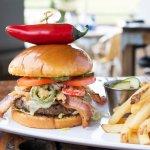 Tex Mex Haystack Burger