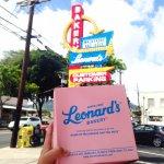 Leonard's Bakery in Oahu, Hawaii.