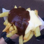 fries with Peanut Sauce and Mayonnaise