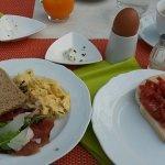 Mega Frühstück!! Alles frisch u selbstgemacht! Jeden Tag etwas anderes Gutes
