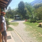 Camp Vili bei bestem Wetter