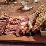 Entree, Charcuterie plate - recommend you share it !