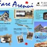 Brochure du Fare Arenui