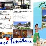Brochure du fare Tinihau