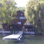 Shot of the B&B from Jim's boat tour