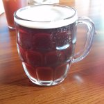 Good tasting local red beer