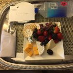 A special cheese plate from management and look at the to #youfancy