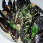 Superb mussels in a great broth.