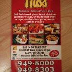 Foto de Moe's Restaurant