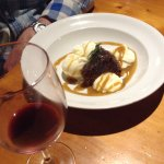 sticky date pudding with ice cream