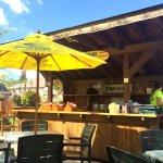 Bar on the patio