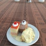Desserts from the luau
