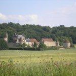 Le château de Faulin