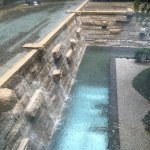 Courtyard water landscape