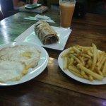 Fish & Chips Restaurant Foto