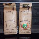 café à déguster et vendu sur place