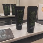Great fair trade products in the bathroom