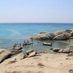 Photo de Mikri Vigla Beach