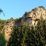 Lycian Tombs in the cliffs of Dalyan