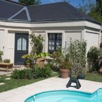 terrasse chambre prestige jardin