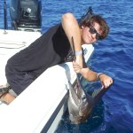 Nephew Mario with a Sailfish