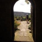 entry to the garden terraces