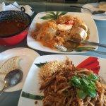 Goulash, cabbage rolls and pad Thai