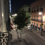View from the balcony towards la calle Isabel la Católica