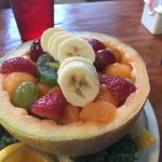 Always great! And then there is the fruit bowl!