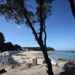 La magnifique plage des Dames à 5 minutes à pieds de l'hotel