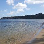 The local beach - more like the Caribbean than Dorset