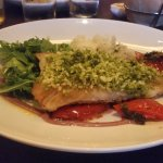 Pesto crusted cod