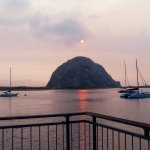 Morro Rock ~ across the street from our hotel/and there were seals!