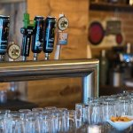 6 local beers on tap