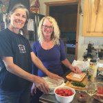 "The cooking experience with my Debby and owner ""Deb""."