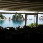 Avra: Blick aus dem Restaurant