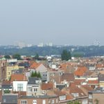 The Atomium in the distance