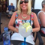 Enjoying a legendary G&T at Smugglers in Cala d'or
