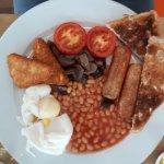 Veggetarian breakfast!