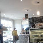 Interior shot of the Dancing Goat Bakery & Cafe