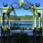 Wedding ceremony was held here. Beautiful!
