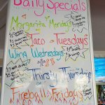 Daily specials! Make sure to check our facebook page for additional specials!