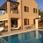 Fabulous view and villa