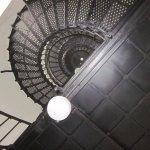 Stair inside of lighhouse