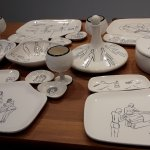artsy table ware