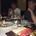 sushi & rolls at Basho