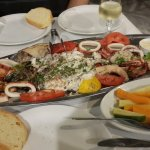 Fish plate for two at Lolos