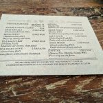 Oyster po'boy, raw bar menu, and wine collection at Henlopen City Oyster House