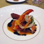 Pan fried homard lobster