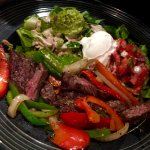 Fajitas Salad with beef
